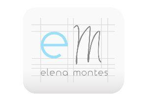 Logo Design Icon - Elena Montes