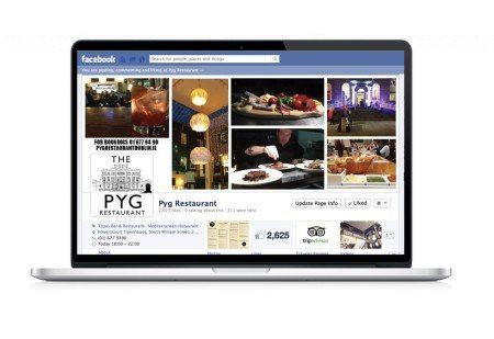 Social Media Graphic Design Pyg Restaurant