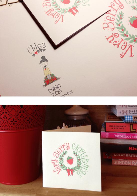 Christmas Card Design - Display