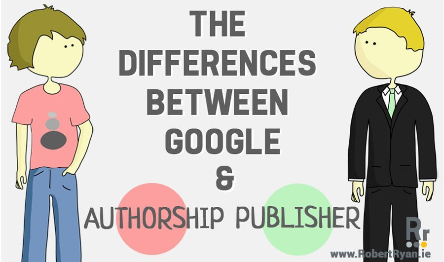 Infographic - Differences between Authorship and Publisher