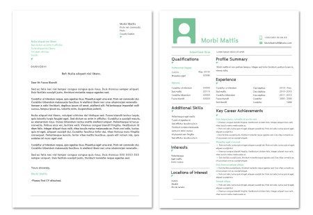 CV Design and Cover Letter Design
