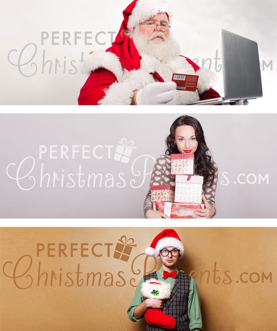 Perfect Christmas Presents - Logo Designs - Sliders