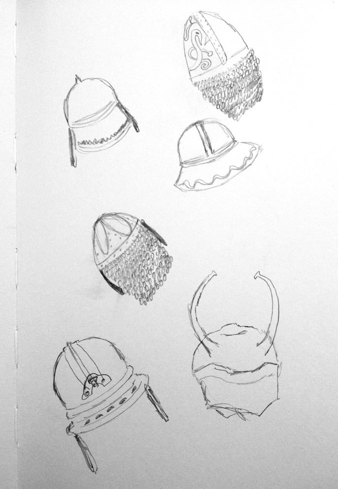 Poster Design - Illustrations - Sketches - Vikings