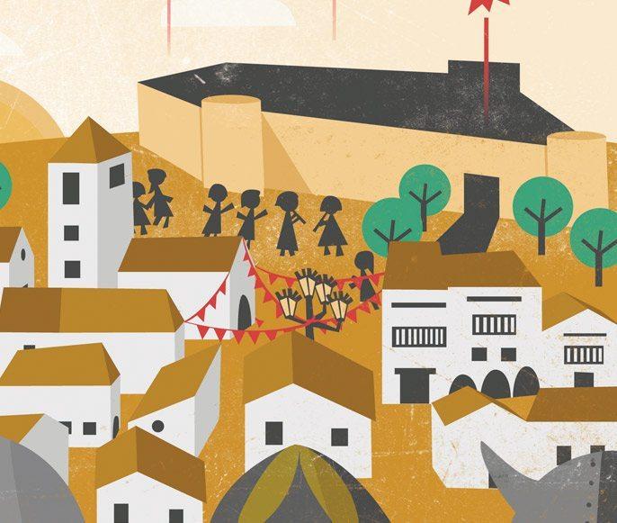 Poster Design - Illustrations - Vikings - Celtics - Detail
