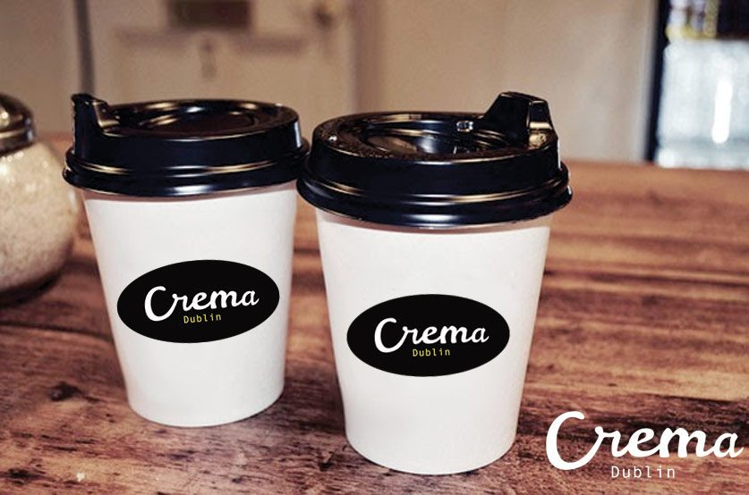 Logo Design - Cafe - Coffee Logo - Crema