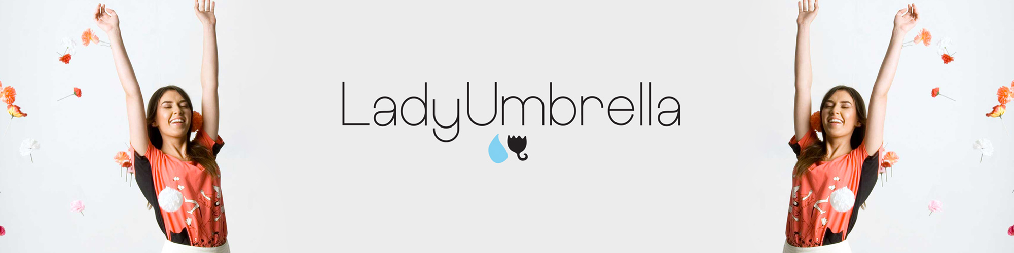 Logo Design – The New LadyUmbrella Logo