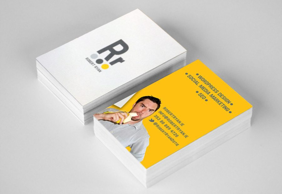 Business Card Design Robert Ryan