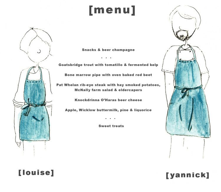 Illustration chefs & menu