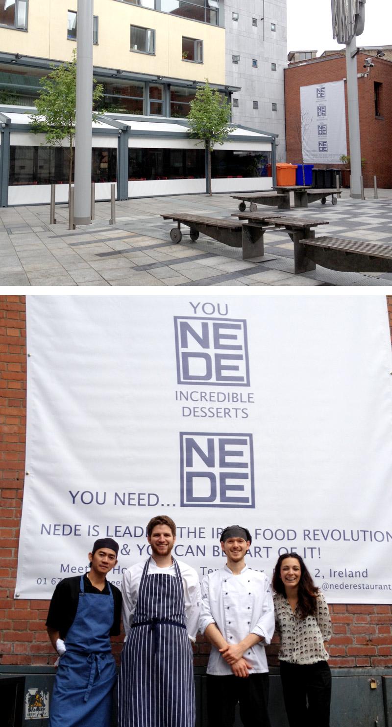 Print Design - Nede Restaurant - Dublin