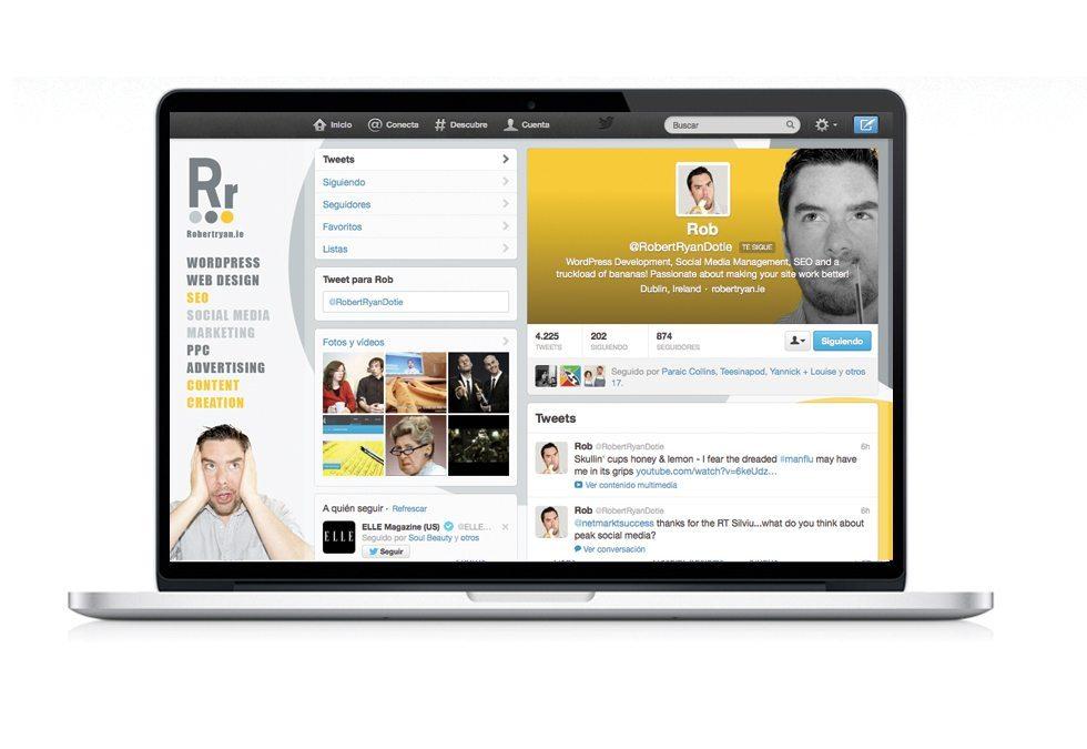 Social Media Graphic Design Robert Ryan
