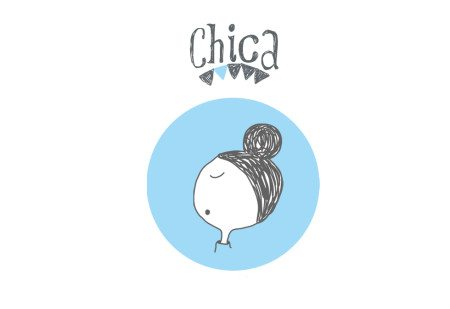 Illustration Chica