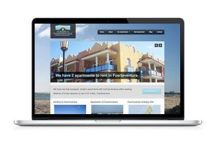 Web Design - Rent Apartments