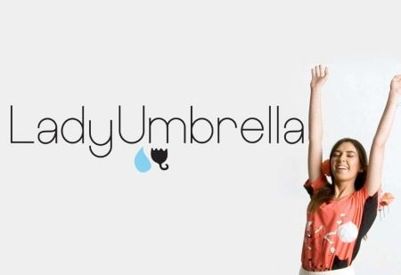 Logo-Design-LadyUmbrella