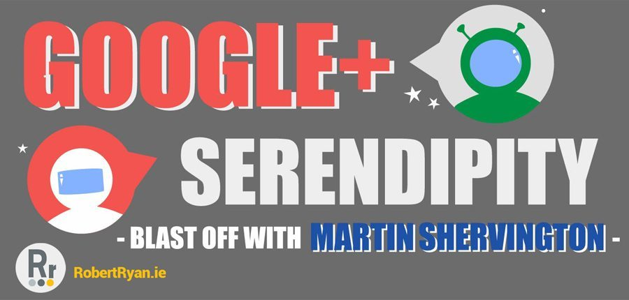 Infographic Design - Google Plus and Martin Shervington