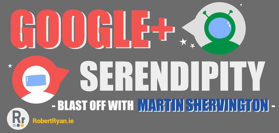 Infographic Design - Google Plus and Martin Shervington