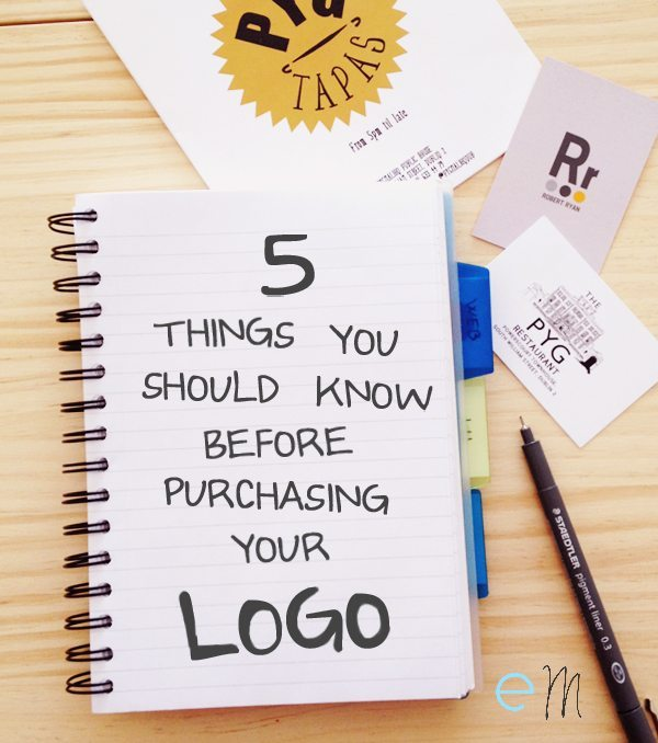 5 things you should know before purchasing your logo
