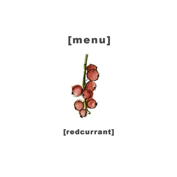 Design Menu - Illustration Redcurrant