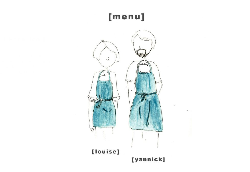Design Menu - Yannick Louise