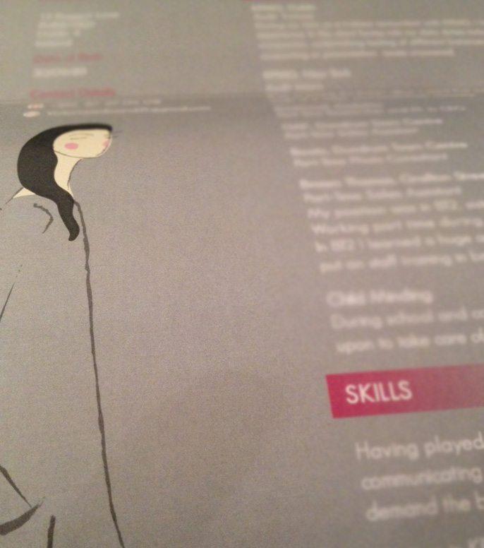 CV Design - Detail