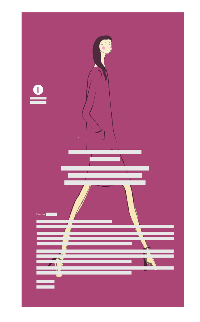 Cover Letter Design - Fashion