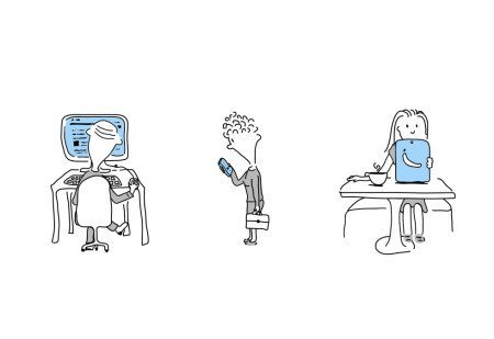Design Illustrations - WordPress Developers
