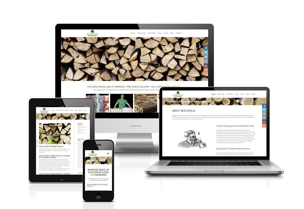 Web Design - Art Direction - Bestlogs.ie