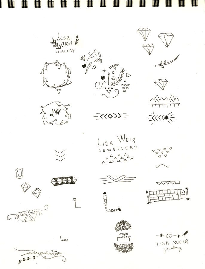 Lisa Weir Jewellery Drawings 1