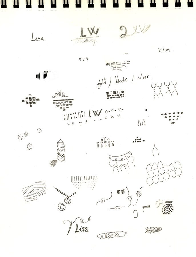 Lisa Weir Jewellery Drawings 2