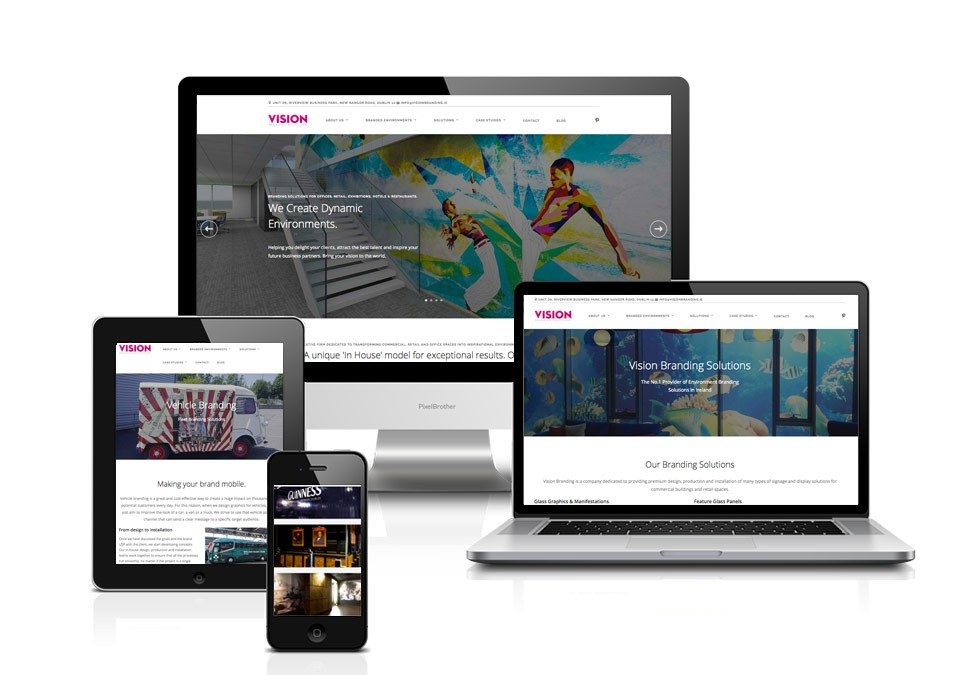 Web Design - Art Direction - Dublin - VisionBranding.ie