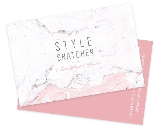 Business Card Design - Fashion Company Ireland