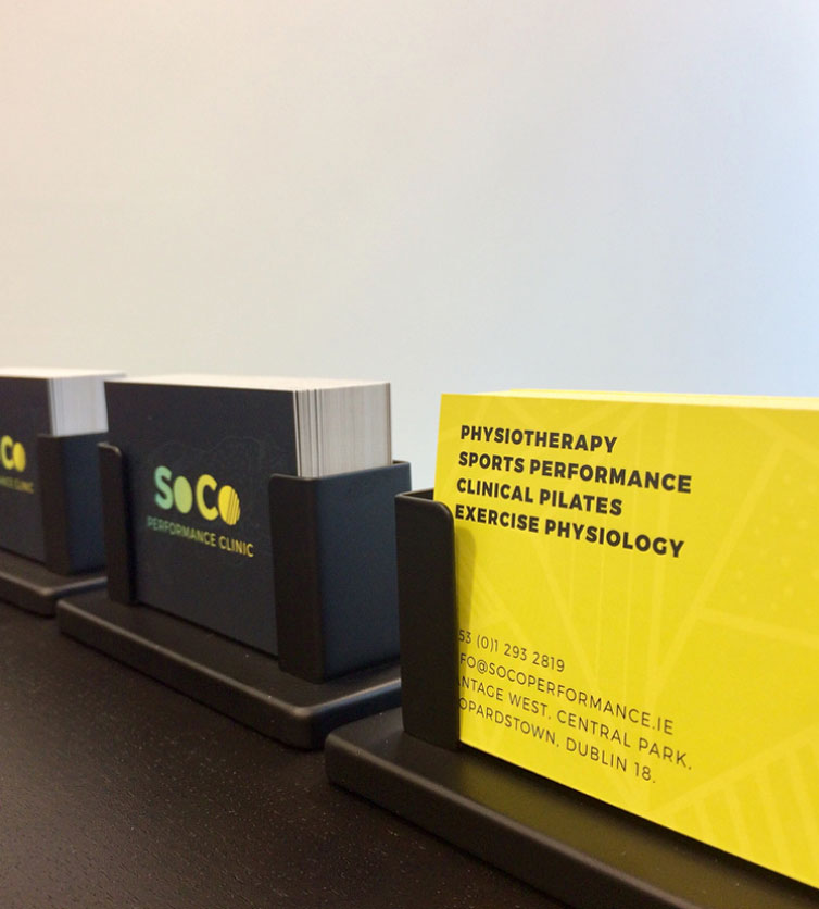 Business Card Design - SoCo - Dublin