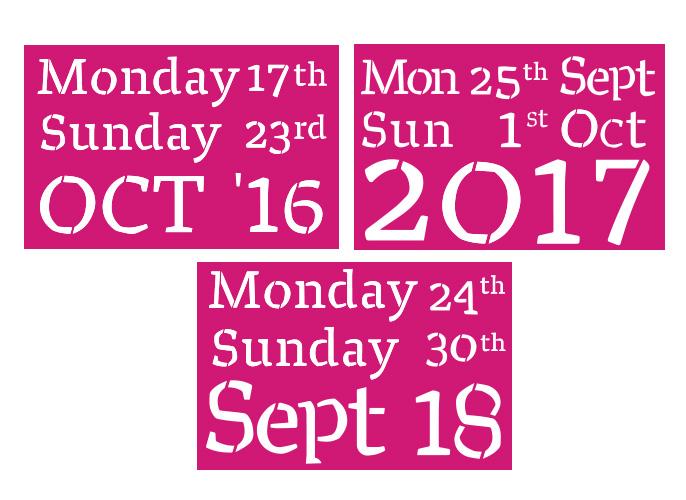 Logo Design - Cancer Week - Ireland