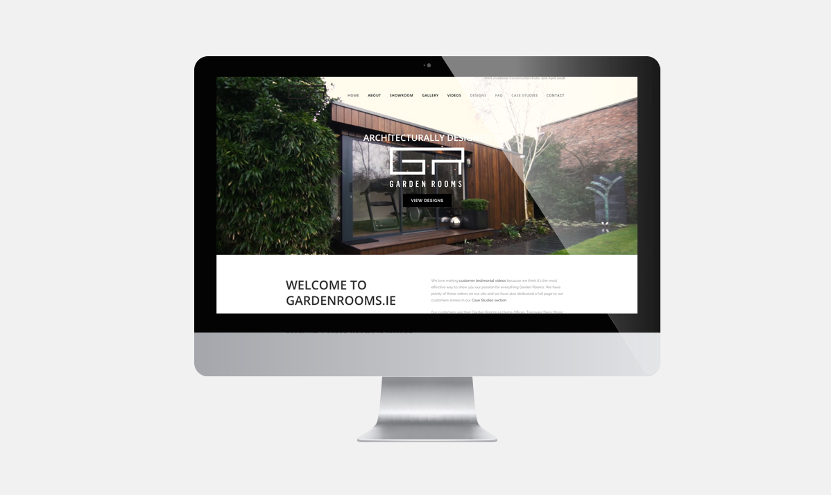 Garden Rooms - Web Design - Ireland