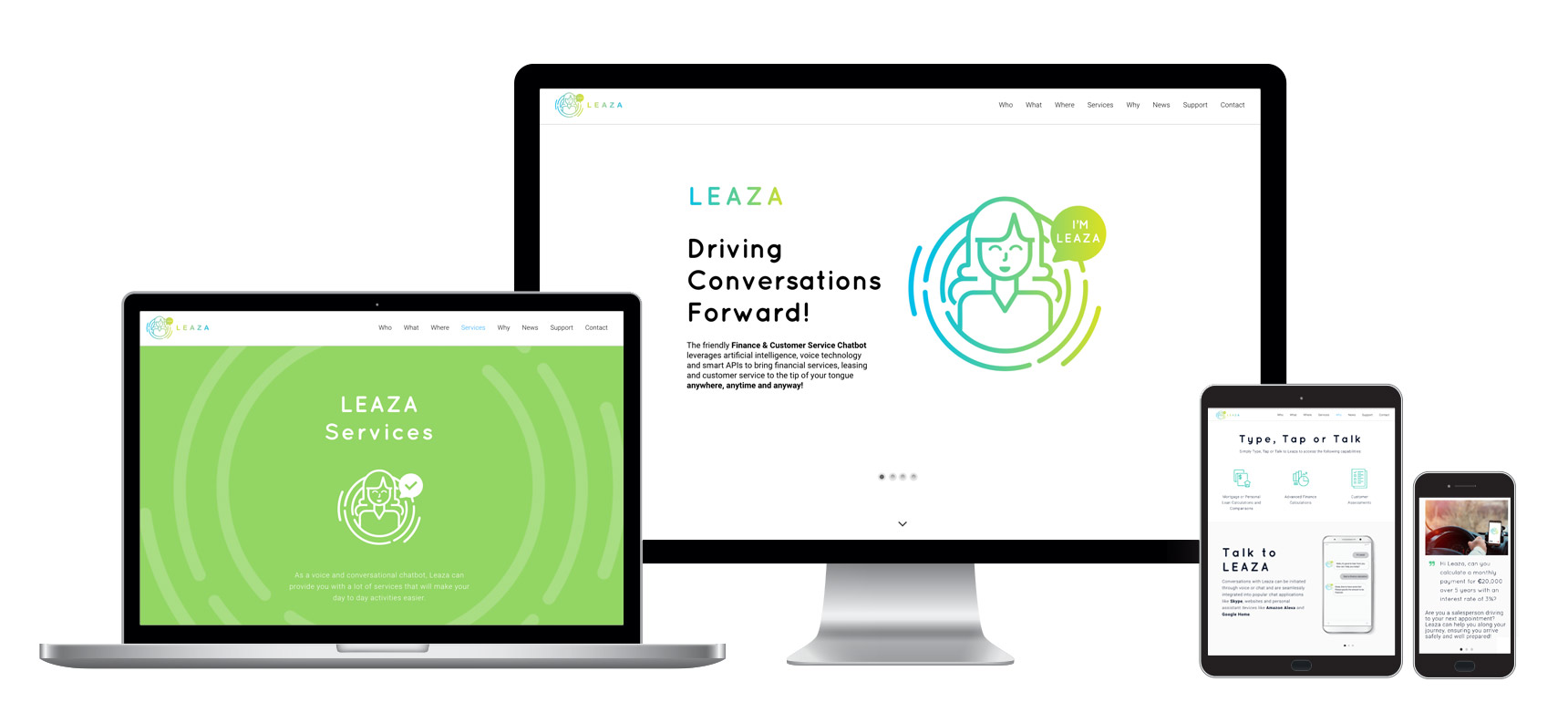 Web Design Ireland - Leaza