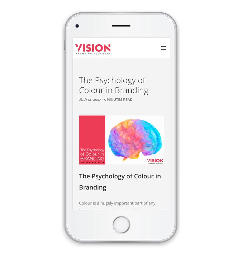 Web Design - Vision Branding - Dublin