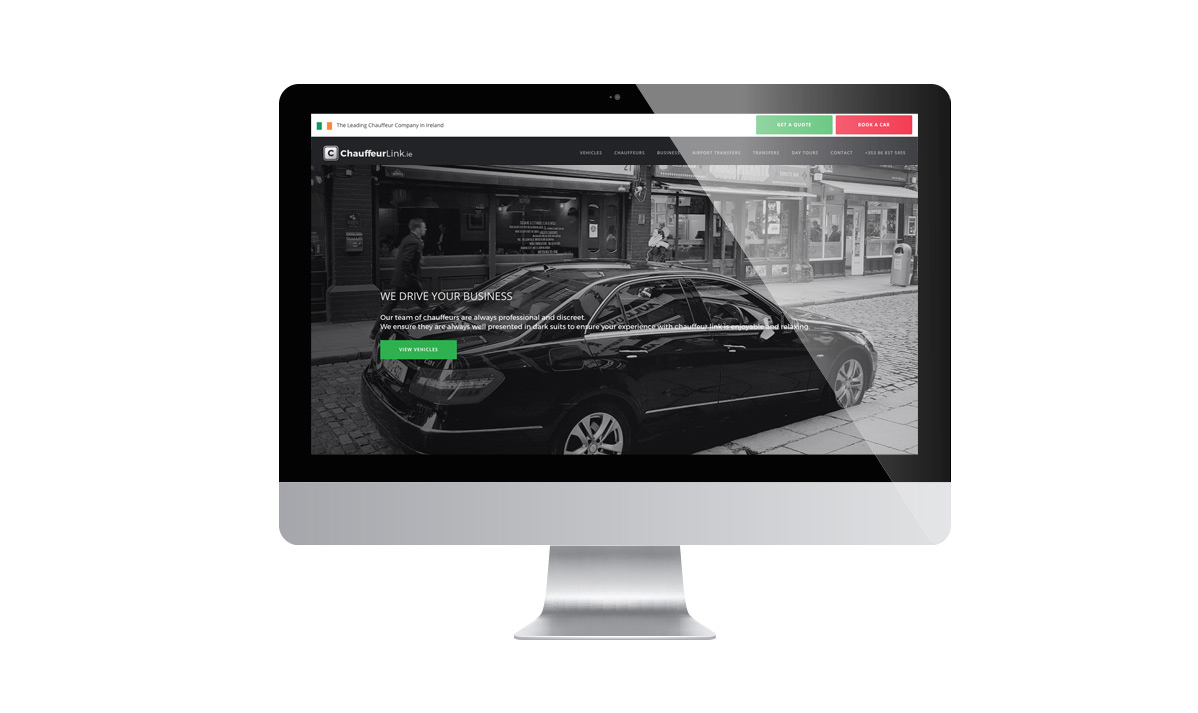 Web Design Wordpress - Rental Car - Ireland