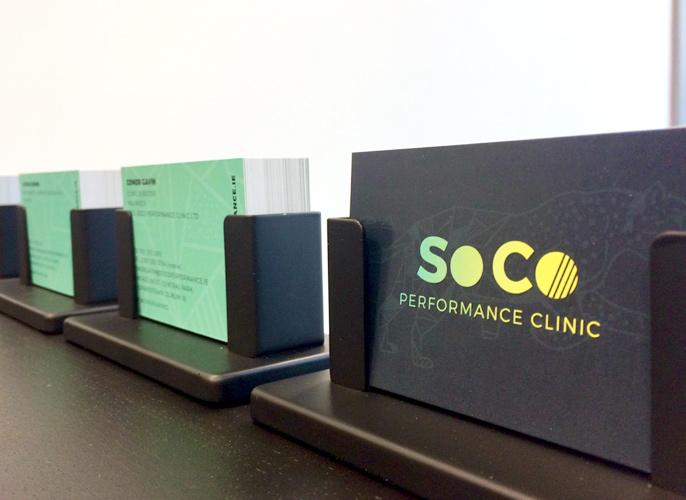 Business Card Design Dublin - SoCo Clinic