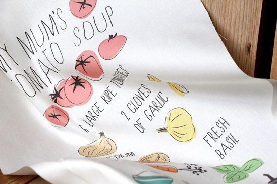 Design Tea Towel - Illustration Spoonflower