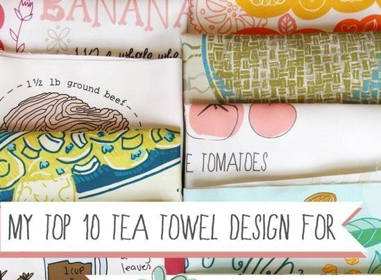 Tea Towel Design - Spoonflower